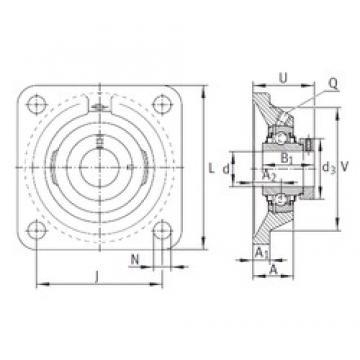 INA RCJ50-N-FA125 bearing units