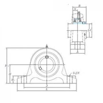 KOYO UCIP208 bearing units