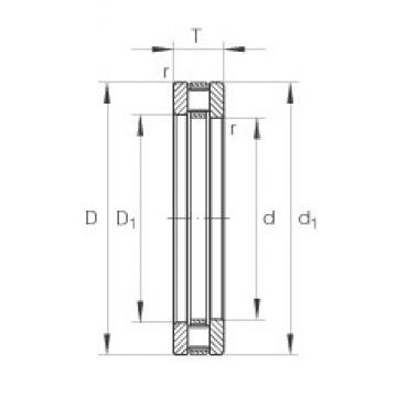 INA 81224-TV thrust roller bearings