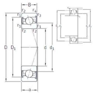 20 mm x 42 mm x 12 mm  SNFA VEX 20 /S 7CE1 angular contact ball bearings