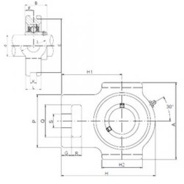 ISO UCT310 bearing units
