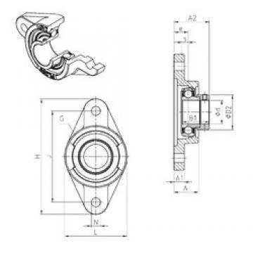 SNR ESFL205 bearing units