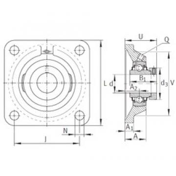 INA RCJ1 bearing units