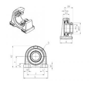 SNR ESPAE202 bearing units