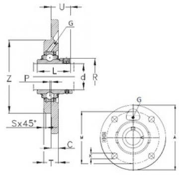 NKE RMEO60 bearing units