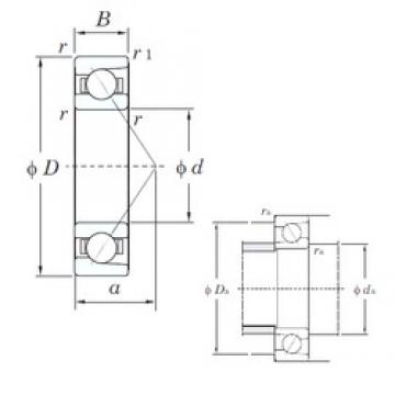 75 mm x 105 mm x 16 mm  KOYO 7915C angular contact ball bearings