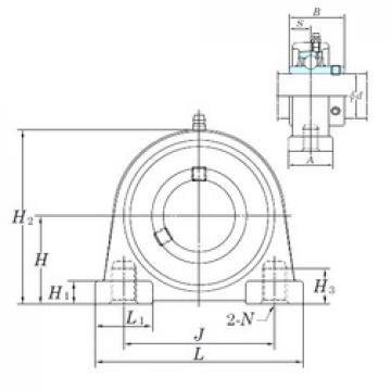 KOYO UCSPA208H1S6 bearing units