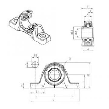 SNR UCPE210 bearing units