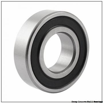 6 mm x 12 mm x 4 mm  ISO MR126-2RS deep groove ball bearings