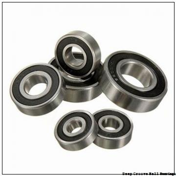 1,5 mm x 4 mm x 2 mm  ISO 618/1,5-2RS deep groove ball bearings