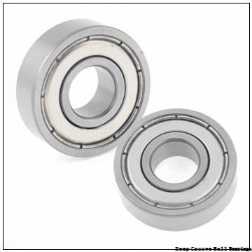 6 mm x 15 mm x 5 mm  NMB R-1560X13KK deep groove ball bearings