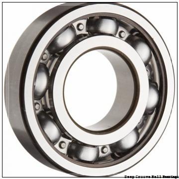 3 mm x 9 mm x 5 mm  ZEN S603-2Z deep groove ball bearings