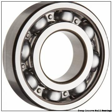 30 mm x 90 mm x 23 mm  NTN 6406 deep groove ball bearings