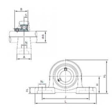 NACHI BLLP1J bearing units