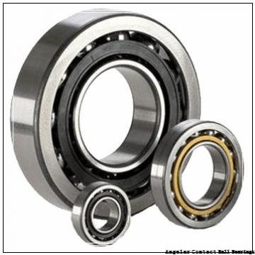 38 mm x 73 mm x 40 mm  Fersa F16117 angular contact ball bearings