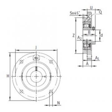 INA PMEY35-N bearing units