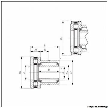 20 mm x 52 mm x 10 mm  INA ZARN2052-L-TV complex bearings
