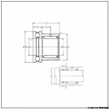 Toyana NAXR45TN complex bearings