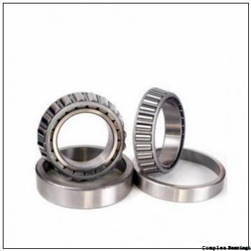 25 mm x 90 mm x 12,5 mm  NBS ZARF 2590 L TN complex bearings