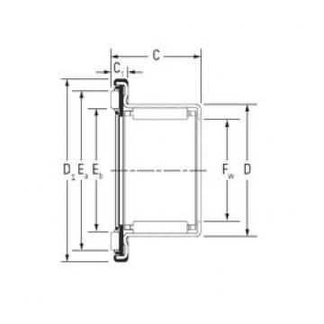 KOYO RAX 725 complex bearings