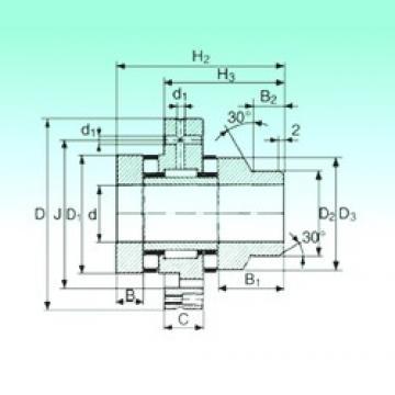 20 mm x 68 mm x 10 mm  NBS ZARF 2068 L TN complex bearings