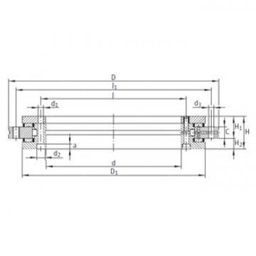 INA YRT1030 complex bearings