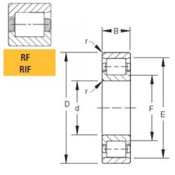 152,4 mm x 304,8 mm x 88,9 mm  Timken 60RIF251 cylindrical roller bearings