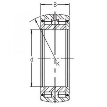 130 mm x 200 mm x 65 mm  INA SL05 026 E cylindrical roller bearings
