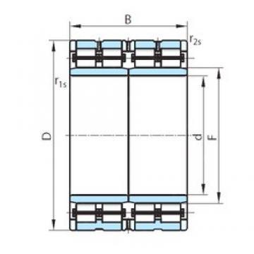 730 mm x 1030 mm x 750 mm  PSL PSL 512-305 cylindrical roller bearings
