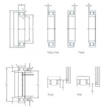 55 mm x 90 mm x 18 mm  SKF N 1011 KPHA/SP cylindrical roller bearings