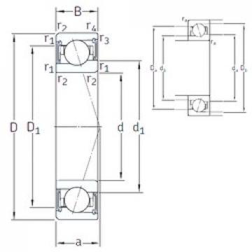70 mm x 100 mm x 16 mm  SNFA VEB /S 70 /S 7CE1 angular contact ball bearings