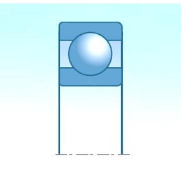43 mm x 87 mm x 19,5 mm  NSK B43-8 deep groove ball bearings