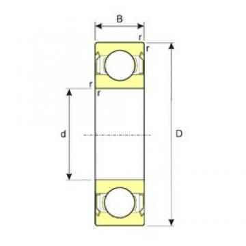 12 mm x 32 mm x 10 mm  ISB SS 6201-2RS deep groove ball bearings