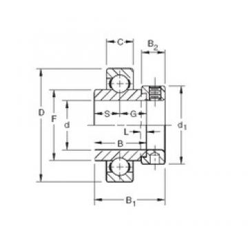 61,9125 mm x 130 mm x 61,91 mm  Timken SMN207K deep groove ball bearings