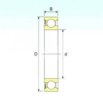 95 mm x 145 mm x 24 mm  ISB 6019-RS deep groove ball bearings