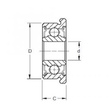 7 mm x 14 mm x 5 mm  ZEN SF687-2RS deep groove ball bearings