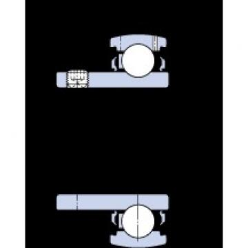50.8 mm x 100 mm x 45 mm  SKF YAT 211-200 deep groove ball bearings