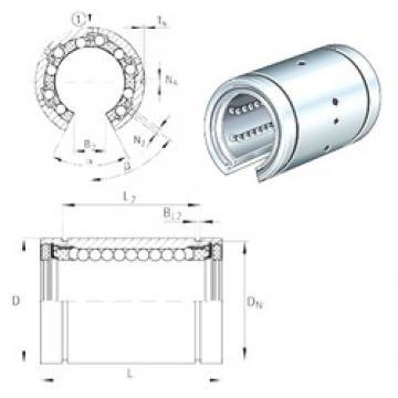 INA KBO30-PP linear bearings