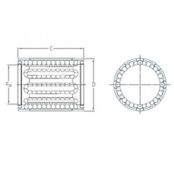 SKF LBBR 4-2LS linear bearings