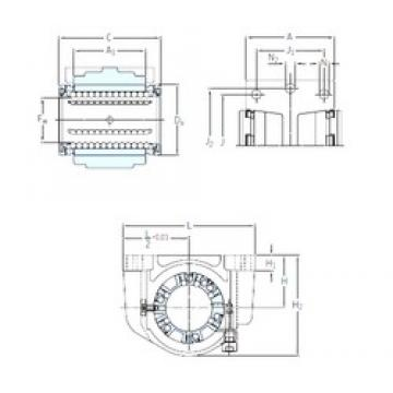 SKF LUCE 25 linear bearings