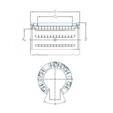 SKF LBCT 30 A linear bearings