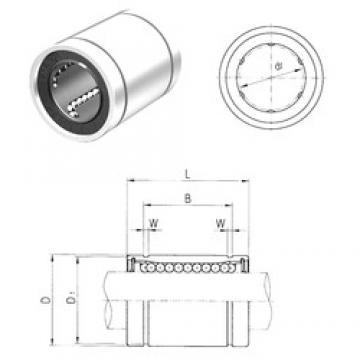 80 mm x 120 mm x 105,5 mm  Samick LM80 linear bearings