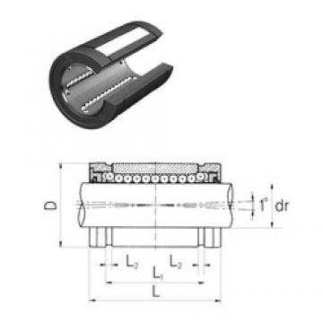 Samick LMBS32UUOP linear bearings