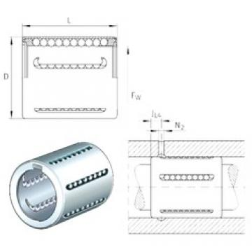 INA KH25 linear bearings