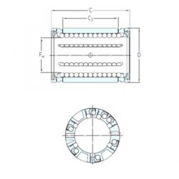 SKF LBCR 30 A-2LS linear bearings