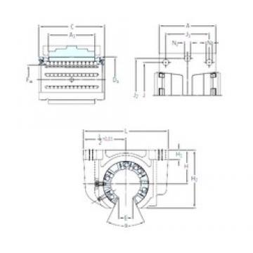 SKF LUCT 80 linear bearings