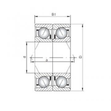 ISO 7202 ADB angular contact ball bearings