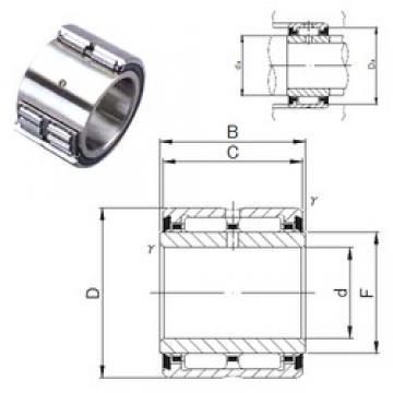 45 mm x 68 mm x 41 mm  JNS NA 6909UU needle roller bearings