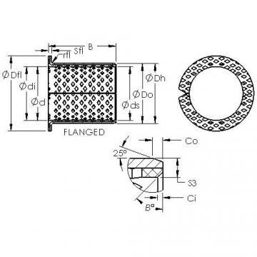 AST ASTB90 F8060 plain bearings
