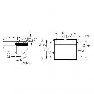 AST AST40 7560 plain bearings